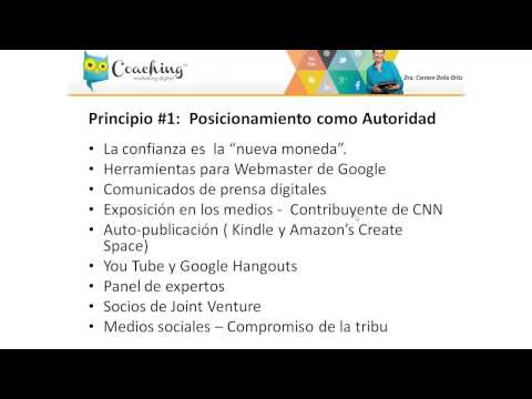 7 principios del Marketing Digital en 2014. #1: Posicionamiento como autoridad