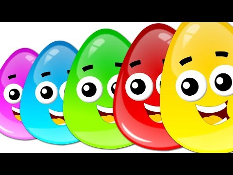 Five In The Bed   Crazy Eggs   Cartoon Videos For Children by Kids Tv