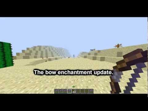 Minecraft: Bow Enchantment Tutorial