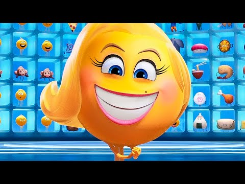 Scary Smiler Scene - THE EMOJI MOVIE (2017) Movie Clip