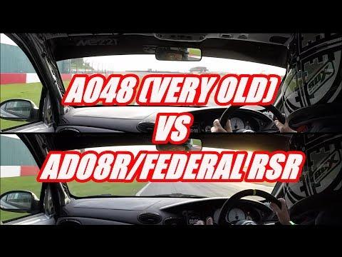 TYRE TEST AO48 VS ADO8R / FEDERAL RSR