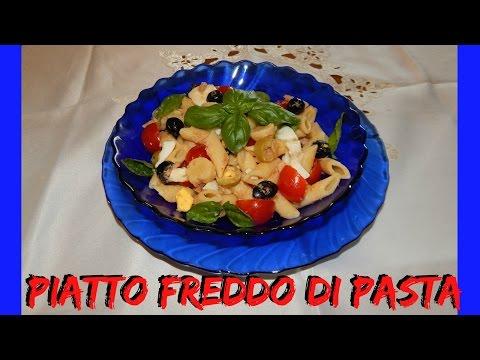 piatto freddo di pasta - ricetta ideale per l'estate