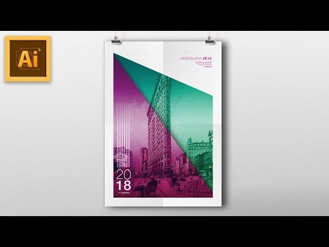 Illustrator Vector POSTER DESIGN TUTORIAL