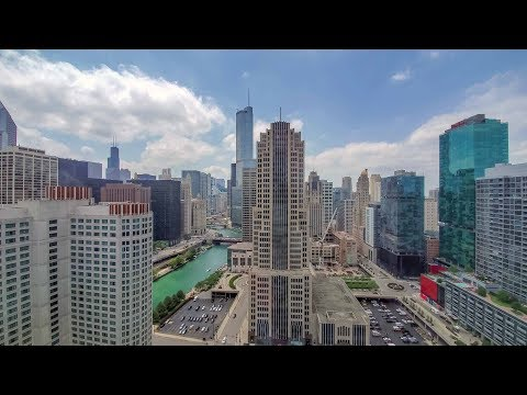 A river-view convertible 1-bedroom at Streeterville's North Water tower