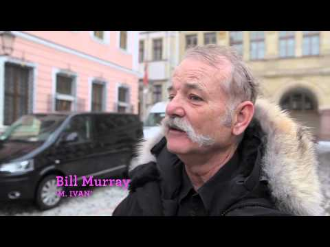 featurette - Go behind the scenes of Wes Anderson's THE GRAND BUDAPEST HOTEL with living legend Bill Murray as he gives a tour of the bucolic town of Görlitz, Germany, wh...