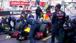 Daniel Ricciardo looked set for his first win of 2016... until this pit stop error cost him his chance of victory. Revisit the most dramatic moments of the 2...