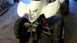 8. Suzuki Quadsport Z250  Snow Plow