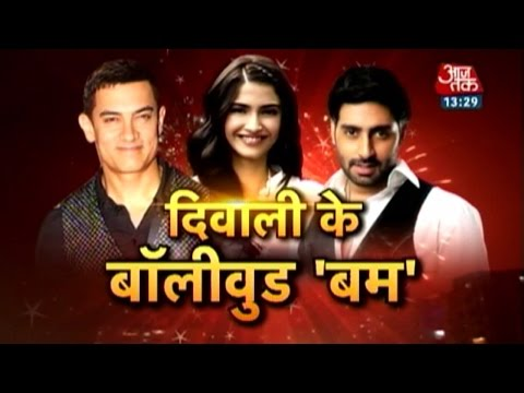 Bollywood stars welcome Diwali with a blast 24 October 2014 02 PM