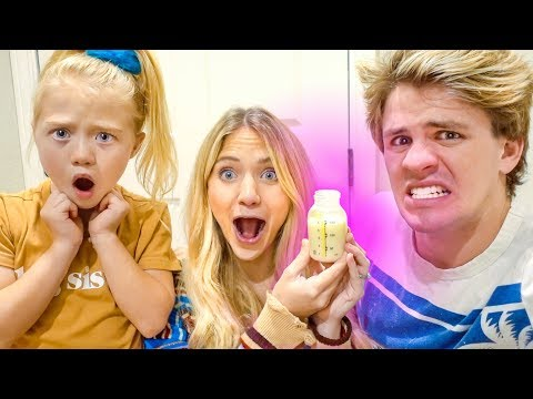 We All Actually Drank Savannah's Breast Milk... (Disgusting)