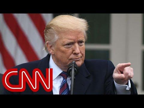 Trump grilled over shutdown, border wall (entire Rose Garden Q&A)