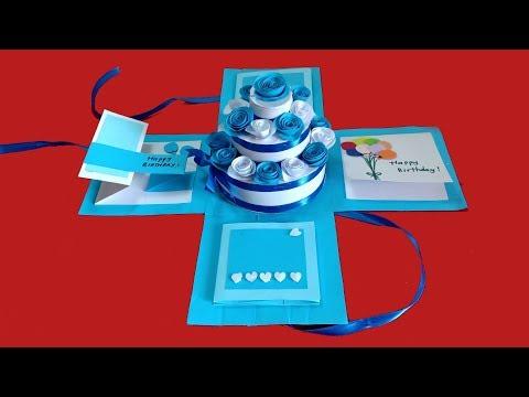 Làm hộp quà tự bung - LOVE BOX tình yêu, quà sinh nhật