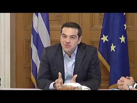 Χαιρετισμός του Πρωθυπουργού στη συνάντηση με εκπροσώπους της ελληνικής κοινότητας της Ουκρανίας