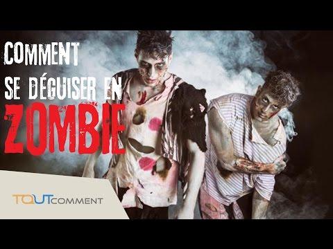 Comment se déguiser en zombie (maquillage et déguisement halloween)