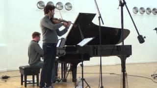Debussy: Beau Soir (Aufnahme-Trailer)