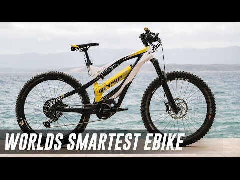 This is the World's most innovative bike, the Greyp G6 EMTB