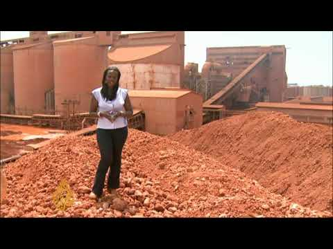 bauxite - China is proving an important trade partner for the west African nation of Guinea. While Guinea's military rulers are facing sanctions from the African Union...