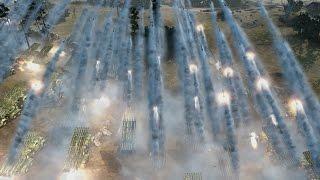 Download Lagu Company of Heroes 2 - 150x Katyusha Rocket Launchers - In Action   MASSIVE ARTILLERY Mp3