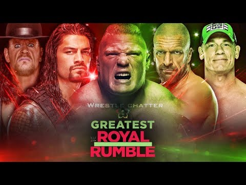 WWE Greatest Royal Rumble Winners ! 50 Man Royal Rumble Match ! Match Card & Predictions !