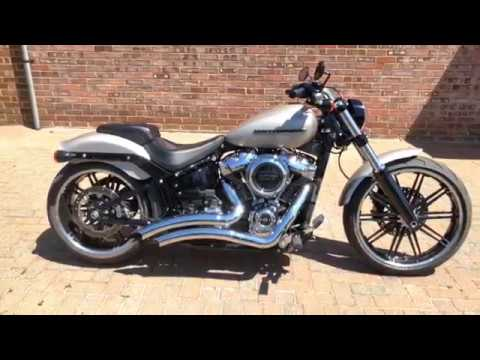 Preowned 2018 Harley-Davidson Breakout in Silver Fortune