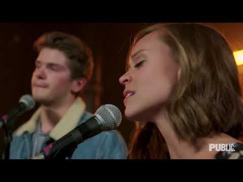 Caitlin Houlahan and Colton Ryan sing Bob Dylans I Want You from Conor McPhersons GIRL FROM THE NORTH COUNTRY. Arranged by Simon Hale.