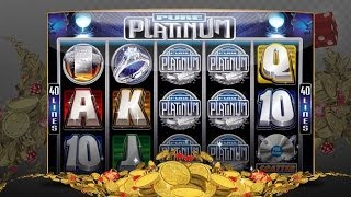 Platinum Play Casino YouTube video