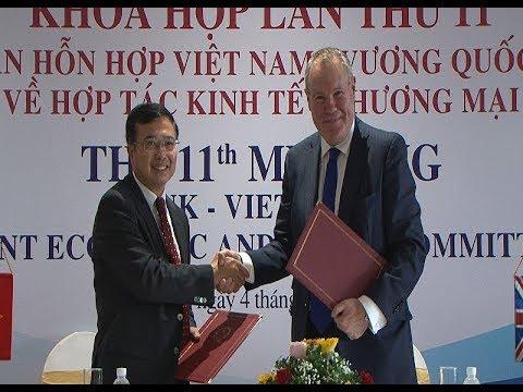 Khóa họp lần thứ 11 Ủy ban Hỗn hợp về hợp tác Kinh tế và Thương mại Việt Nam – Vương quốc Anh