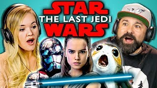 Video ADULTS REACT TO STAR WARS: THE LAST JEDI TRAILER MP3, 3GP, MP4, WEBM, AVI, FLV Oktober 2017