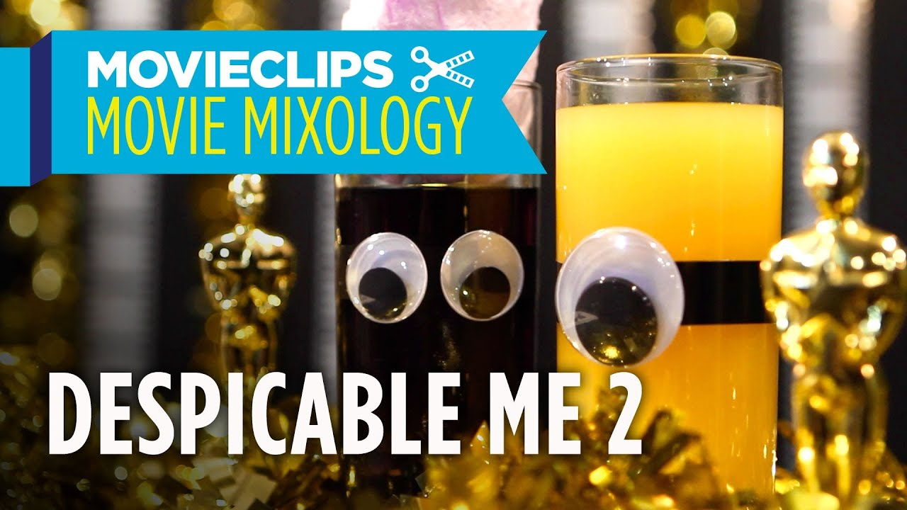 Despicable Me 2 Cocktails