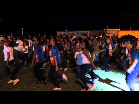 Flash Mob – Divulgação do Renascer 2014 no Shopping