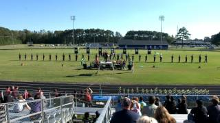 Franklinton (NC) United States  City pictures : Franklinton HS Marching Band at 37th Anniversary Greene Central High School Band Day 10/22/2016