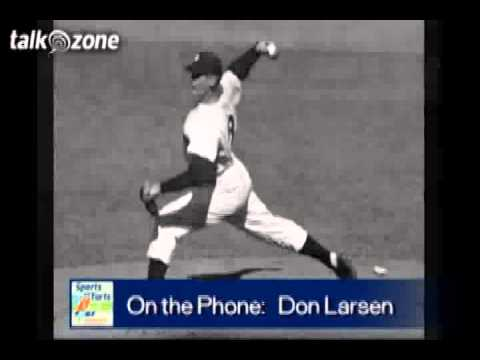 don larsen - Nineteen pitchers have thrown perfect games in Major League Baseball, but only one has done it in the World Series - Don Larsen. Don takes you back to Octobe...