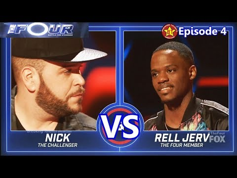 Nick Harrison vs Rell Jerv with Results  &Comments The Four S01E04 Ep 4