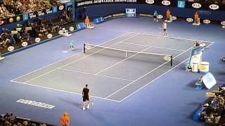Tennis Highlights, Video - FEDERER vs RAONIC final game of the match Australian Open 2013