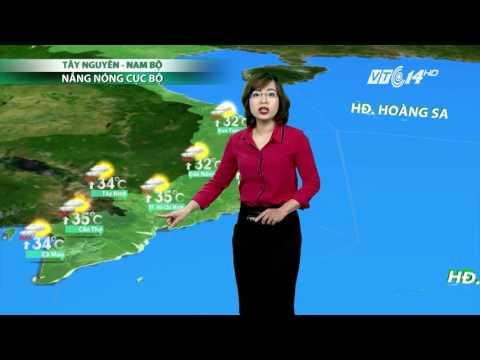 (VTC14)_Thời tiết 6h ngày 30.04.2017