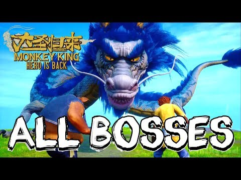 Monkey King: Hero is Back All Bosses | Boss Fights  (PS4)