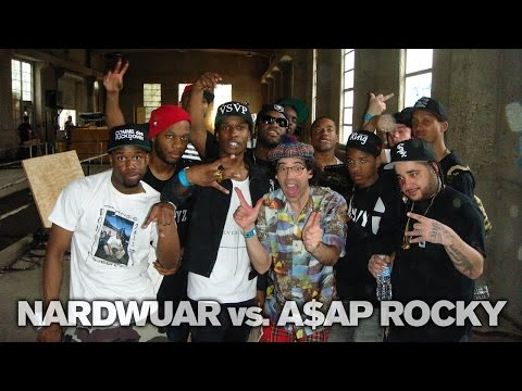 Video: Nardwuar VS. ASAP Rocky and the ASAP Mob