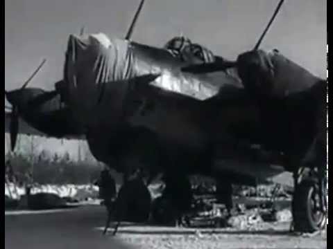Pe-8 of Soviet Air Force, Long Range Aviation, bombing Berlin