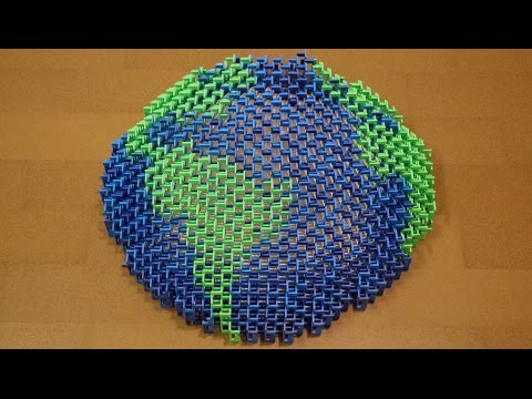 Earth is Our Home a 8 000Domino Structure for Earth