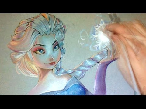 Comment Dessiner Elsa Frozen Youtube