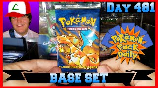 Pokemon Pack Daily BASE SET Booster Opening Day 481 - Featuring Trainer Tony by ThePokeCapital