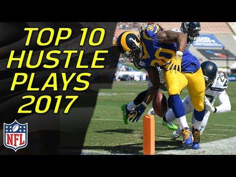 Top 10 OUTSTANDING EFFORT Plays of the 2017 Regular Season | NFL Highlights