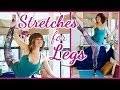 Cheer & Dance Stretches Flexibility, Scorpion and Splits, Stretching Exercises Routine & Workout