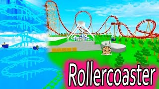 Riding Crazy Rollercoasters & Carnival Rides - Let's Play Roblox Online Game