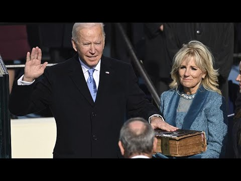 USA: Joe Biden und Kamala Harris als Präsident und Vi ...
