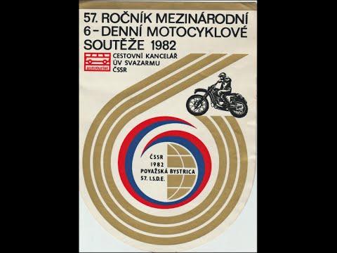 57.ISDE 1982 CZECHOSLOVAKIA