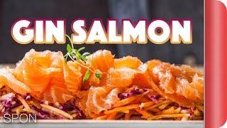 Stunning Christmas Starter - Salmon & Slaw Recipe by SORTEDfood