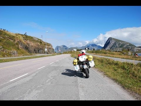 Motorcycle Tour to Norway (Cologne - North Cape) - Part 5 (Lofoten Islands)