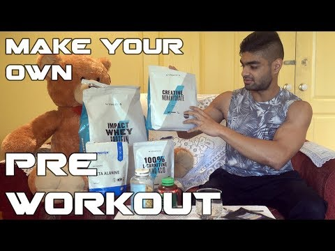 How to make your own Pre Workout + My Supplement Stack
