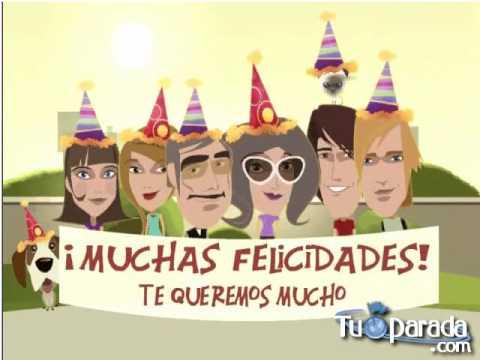 Tarjetas de Cumpleaños TuParada.com