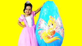 Video Winx KOCAMAN Dev Sürpriz Yumurta Açma ★ HUGE Giant Surprise Egg ★ Barbie Minnie MLP Oyuncakları MP3, 3GP, MP4, WEBM, AVI, FLV November 2017
